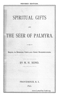 Titles spiritual gifts and the seer of palmyra a sequel to spiritual gifts and spirit manifestations negle Image collections
