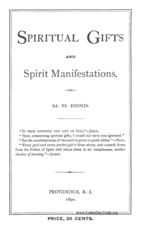 Titles spiritual gifts and spirit manifestations 1890 pdf negle Image collections