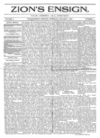 Zion's Ensign, vol. 11, 1900 (PDF)
